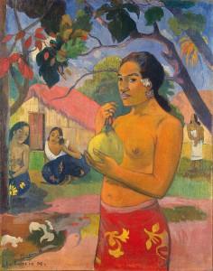 Peinture de Paul Gauguin, artiste connu à Pont-Aven