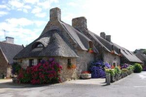 Maison en granit